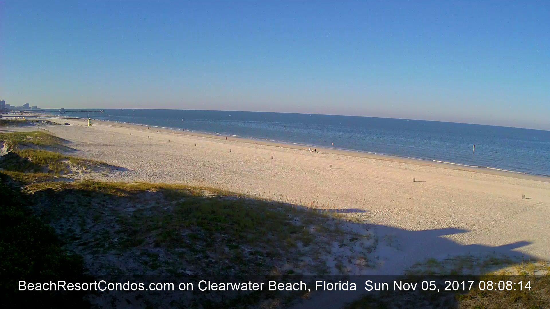 Clearwater Beach Live Streaming Beach Cam